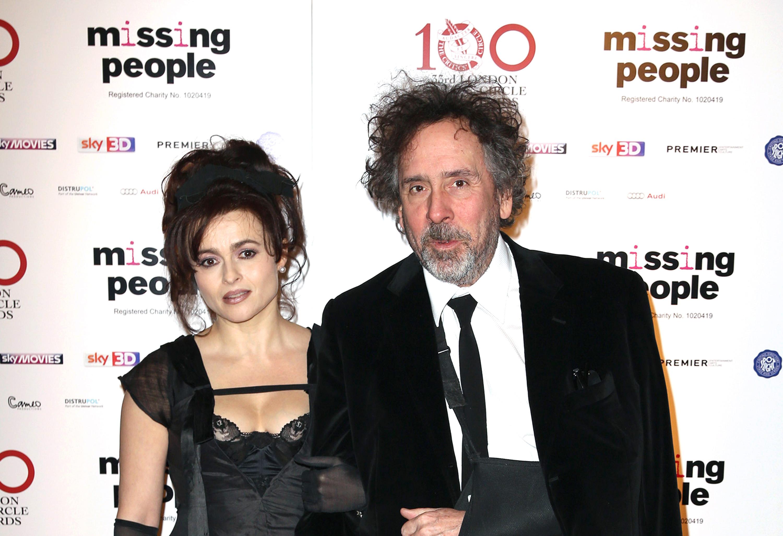 Le réalisateur Tim Burton et la réalisatrice Helena Bonham ... Helena Bonham Carter Divorce
