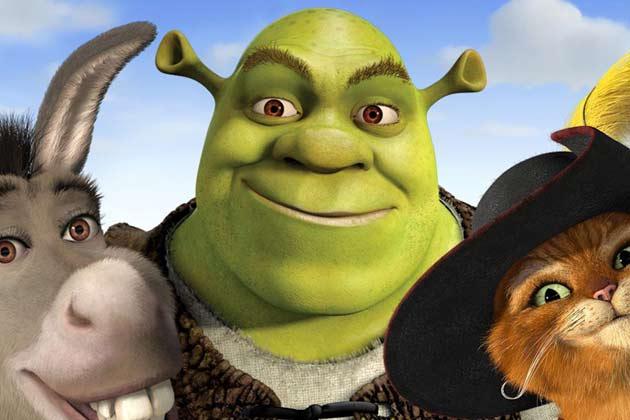 Shrek Le Chat Potte Et L Ane 630 420