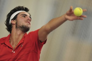 Tennis. ATP Roller Open. 11/09/2013.Ugo NASTASI.( photo Julien Garroy )