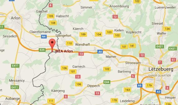 Carte Ikea Belgique.Carte Decathlon Le Quotidien