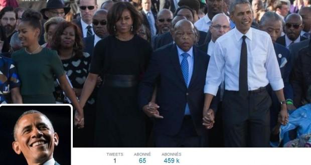 Bonjour twitter c 39 est barack obama a enfin son compte - Bureau president americain ...