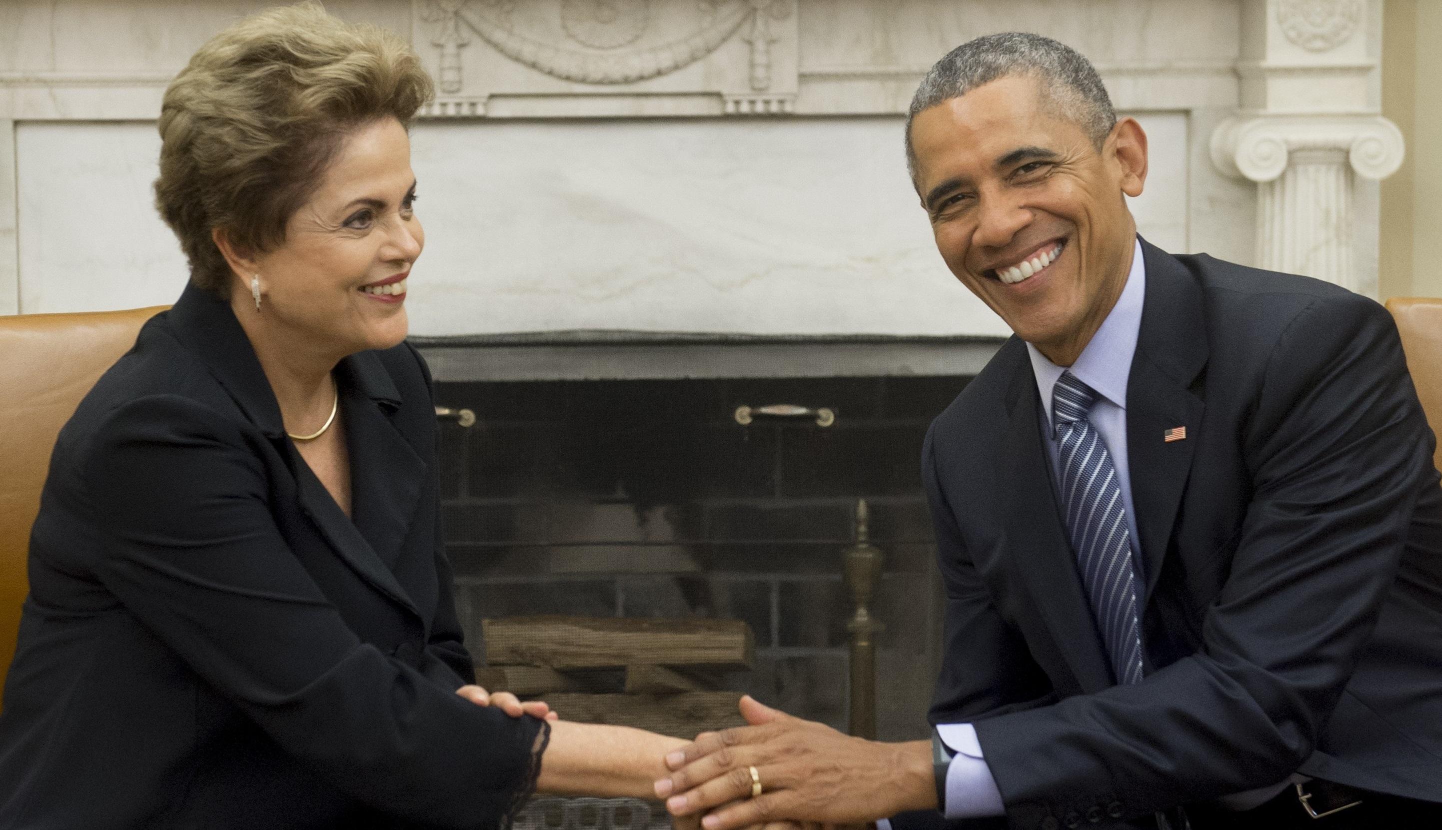 Obama rousseff ok - Bureau president americain ...