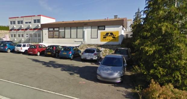 La société EQOS à Foetz. Le groupe Alpine Energie est devenu EQOS Energie en 2014. (capture Google Maps)