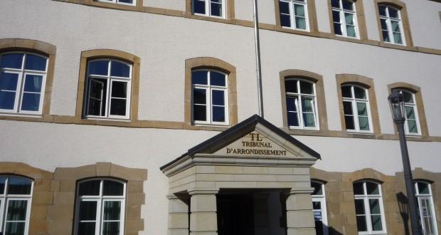 Le tribunal d'arrondissement de Luxembourg. (illustration Fabienne Armborst)