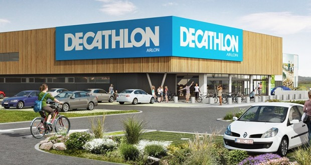 decathlon ouvrira le 18 d cembre arlon. Black Bedroom Furniture Sets. Home Design Ideas