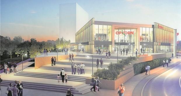Opkorn le nouveau mall de differdange ouvrira fin 2017 - Nouveau centre commercial roncq ...