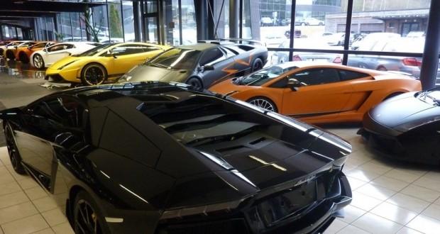 Un concessionnaire lamborghini ouvre ses portes au luxembourg - Voiture luxembourg occasion garage ...