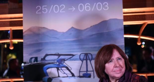 Svetlana Alexievitch était très attendue, vendredi soir, par les festivaliers du Lux Film Festival.