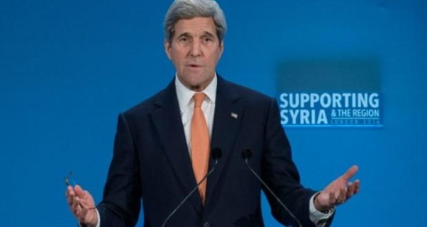 Le secrétaire d'Etat américain John Kerry à Londres le 4 février 2016. (Photo : AFP)