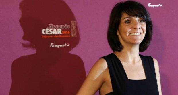 Florence Foresti, maîtresse de cérémonie des César, le 6 février 2016 à Paris. (Photo : AFP)