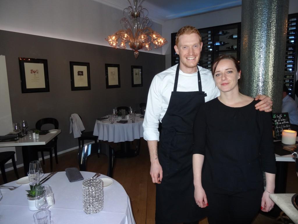 Thomas et son épouse Émeline, ici dans la salle de La Mirabelle, vont vivre une nouvelle aventure à Hobscheid.