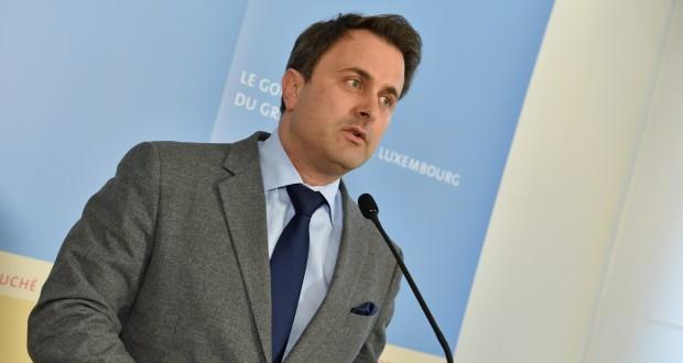 Xavier Bettel a expliqué, mercredi, la position de son gouvernement en vue des négociations lors du sommet européen à Bruxelles. (photo François Aussems)