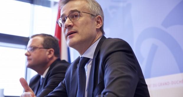 Le ministre de la Justice Félix Braz a présenté ce lundi les points de référence du nouveau projet de loi relatif à la nationalité luxembourgeoise. (Photo : Editpress)