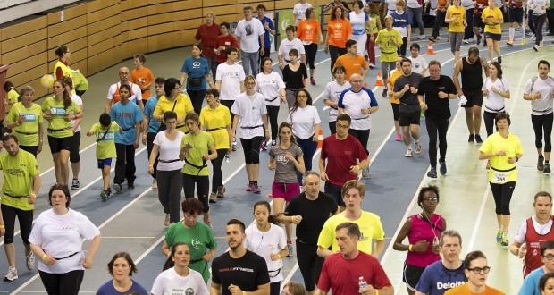 Quelques 10 500 participants sont attendus, ce week-end, à la Coque. (Photo : Archives LQ)