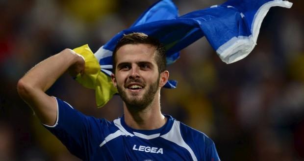 Le Schifflangeois Miralem Pjanic affrontera le Luxembourg avec l'équipe de Bosnie, vendredi soir au stade Josy-Barthel. (Photo AFP)
