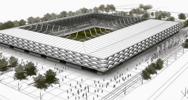 Le nouveau stade national accueillera d'ici trois ans et demi les matches des Roud Léiwen,du XV luxembourgeois, mais aussi d'autres évènements extrasportifs. (illustrations gmp_beng)