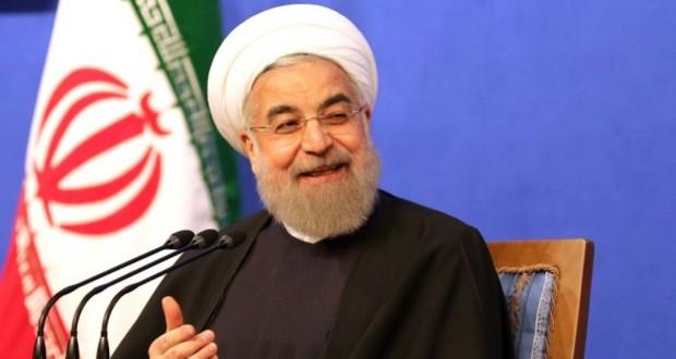 Le président iranien modéré Hassan Rohani donne une conférence de presse, le 6 mars 2016 à Téhéran. (Photo : AFP)
