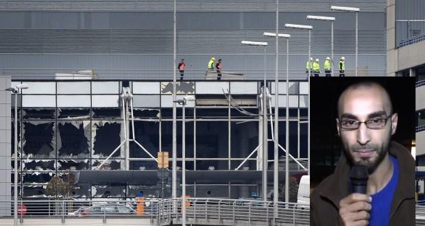 Fayçal Cheffou soupçonné d'être le troisième assaillant de l'aéroport, a été remis en liberté faute de certitudes sur son implication. (Photos AFP)