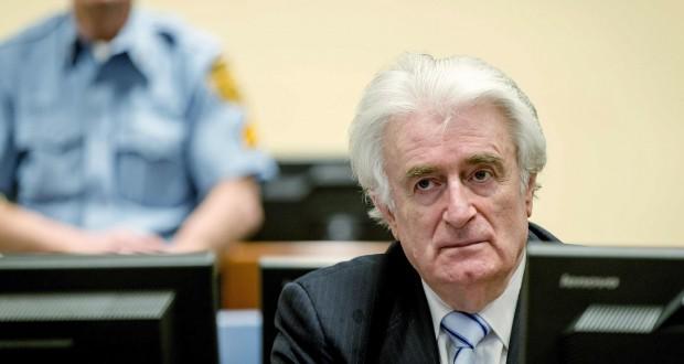 Radovan Karadzic a été reconnu coupable de génocide et condamné à 40 ans de prison pour le massacre de près de 8 000 hommes et garçons musulmans à Srebrenica, en juillet 1995. (Photo AFP)