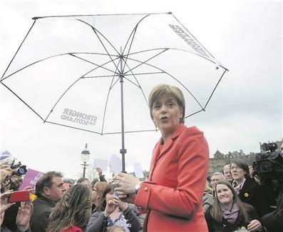 La Première ministre d'Écosse, Nicola Sturgeon, symbolise l'attachement des Écossais à l'Union européenne. (photo AFP)