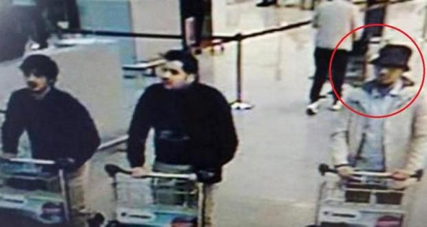 L'homme au chapeau aurait été identifié par le chauffeur de taxi qui a convoyé les terroristes jusqu'à l'aéroport. (Photo DR)