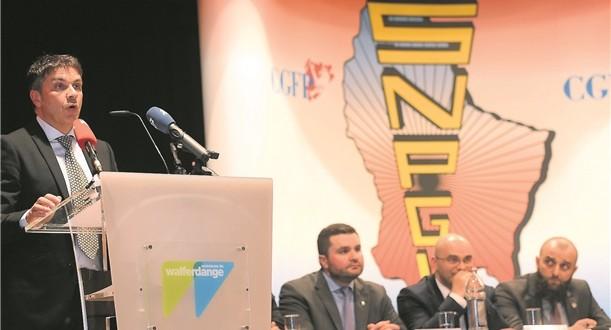 Mercredi, au centre Prince-Henri, à Walferdange, sept membres du SNPGL, dont l'ancien secrétaire généraldu syndicat, ont été exclus de l'organisation. (photo F.Pizzolante)