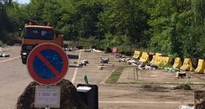 Pas moins de 20m3 de déchets en tous genres ont été ramassés. (Photos police grand-ducale)
