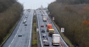 L'élargissement de l'A3, à partir de Dudelange-Bettembourg, doit permettre d'absorber la densité du trafic frontalier. (illustration archives Isabella Finzi)