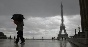 La vigilance orange est maintenue dans 23 départements, notamment en Ile-de-France. (Photo : AFP)