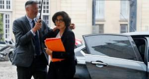 La ministre du Travail Myriam El Khomri le 30 mai 2016 à Paris. (Photo : AFP)