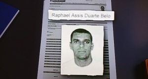 La police brésilienne a diffusé des photos des suspects recherchés. Parmi les 33 auteurs présumés du viol, cet homme de 41 ans. (Photo AFP)