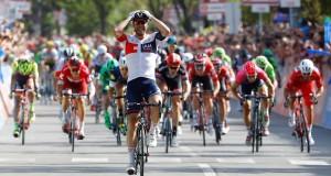 La 17e étape du Giro, mercredi, a été remportée par l'Allemand Roger Kluge. (Photo AFP)