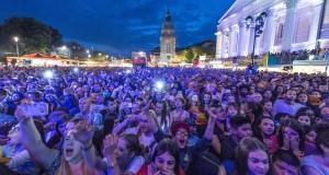 Quelque 400 000 personnes ont participé au festival de musique de Darmstadt entre les 26 et 29 mai. (Photo AFP)