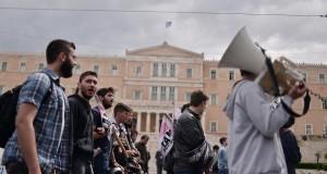 La grève et les mots d'ordre de manifestation étaient bien suivis vendredi. (Photo AFP)