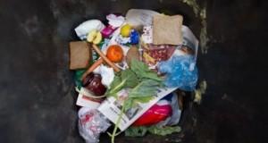 Des déchets alimentaires au fond d'une poubelle. (photo AFP)