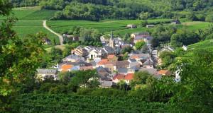 La commune de Ahn à proximité de Wormeldange. (Illustration : DR)