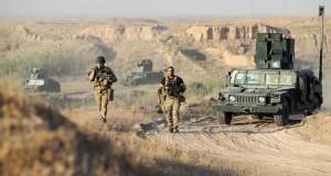Forces irakiennes le 23 mai 2016 à à l'assaut de la ville de Fallouja. (photo AFP)