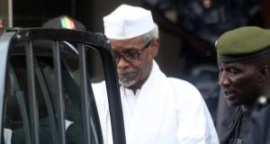 """Hissène Habré a été jugé, notamment pour """"crimes contre l'humanité"""", à Dakar. (photo AFP)"""