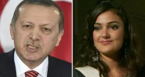 Merve Buyuksarac, ex miss Turquie, a été condamnée pour avoir publié une version de l'hymne national turc contenant des insultes contre le président Erdogan. (Photos AFP)