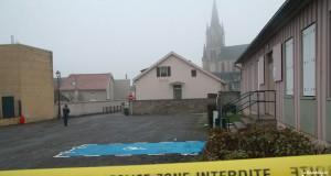 Le véhicule de Chanel Mallinger a été découvert le 11 décembre 2013 sur un parking de Woippy-village. A l'intérieur, la dépouille du directeur d'école lacérée de 42 coups portés avec une arme tranchante. (photo archives RL/Gilles Wirtz)