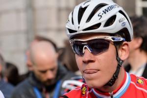 Bob Jungels conserve son maillot de champion du Luxembourg. (photo archives Editpress / Jeff Lahr)
