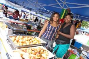 Le Togo était notamment à l'honneur, avec ses excellentes spécialités culinaires et ses jolies ambassadrices. (photo Alain Rischard)