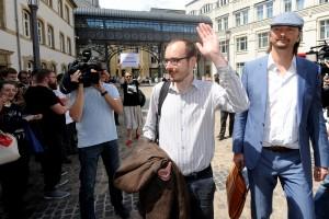 Marqué par le verdict, Antoine Deltour a décidé de faire appel. (photo Hervé Montaigu)