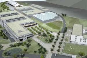 La maquette du futur LTA à Gilsdorf. (illustration Schmitz et Hoffmann architectes)
