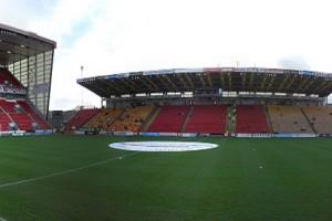 Pittodrie Stadium. Une enceinte qui devrait être bien pleine contre le Fola jeudi. (Photo DR)