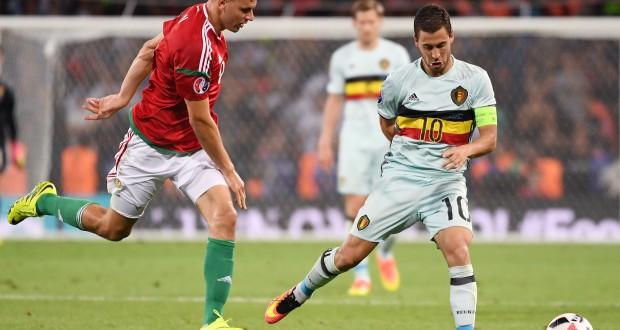 Eden Hazard, l'homme du match, a illuminé la rencontre de son talent. (photo AFP°