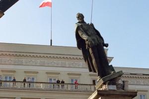 Ces monuments rappellent la domination soviétique en Pologne à l'époque communiste. (illustration AFP)