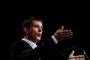 """""""Il ne peut pas y avoir d'accord de traité transatlantique"""", a déclaré le Premier ministre français. (photo AFP)"""
