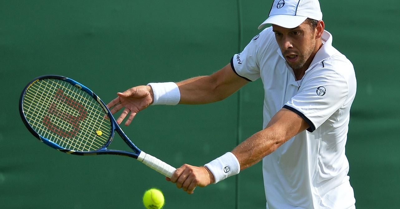 Gilles Muller a sans doute payé les efforts de son premier tour épique. (Photo AFP)