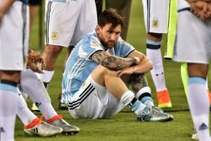 L'attaquant-vedette du FC Barcelone, le meilleur joueur du monde, a cette fois précipité la défaite de son équipe. (Photo AFP)